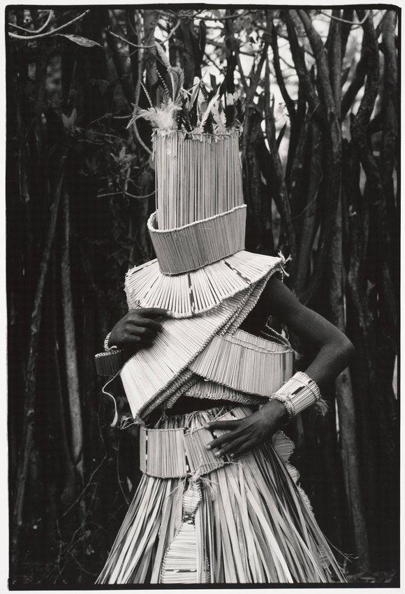 image of 'Untitled (Magôgôbya dancer, Vawhera ceremony)'