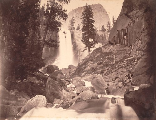 Pi-wy-ack. The Vernal Fall, 300 feet