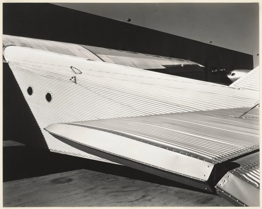 image of Untitled (Ford Tri Motor Plane)