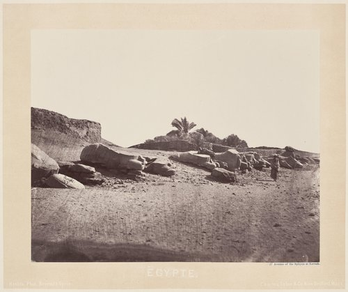Avenue of the Sphinx at Karnak