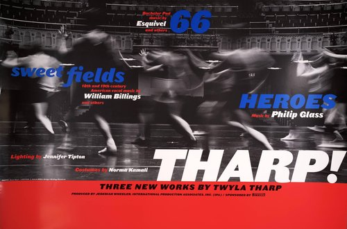 Tharp! Three New Works by Twyla Tharp