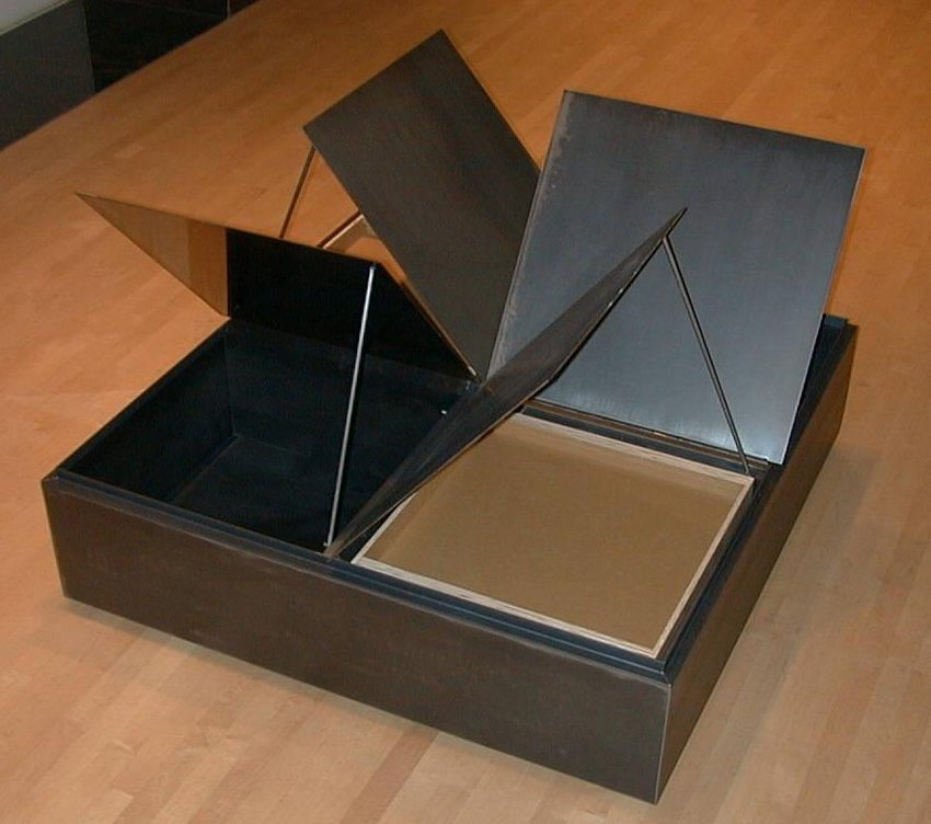 image of 'Pinwheel Coffee Table'
