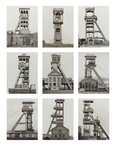 Fördertürme, Belgien, Frankreich (Winding Towers, Belgium, France)