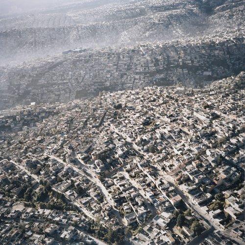 Vista Aérea de la Ciudad de México, XIII (Aerial View of Mexico City, XIII)