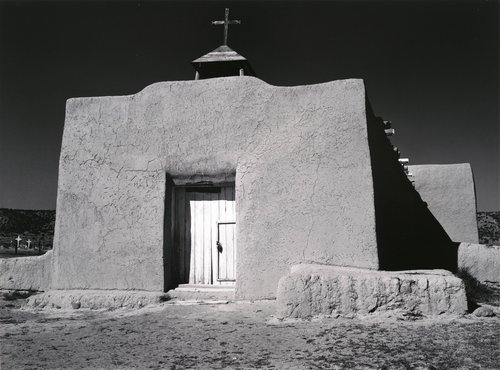 Church, Hernandez, New Mexico, East Facade