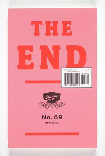 Emigre magazine, no. 69 (The End)