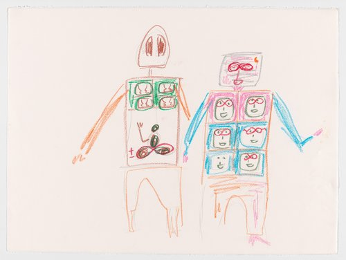 Untitled (Two Robots)