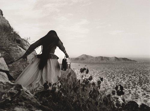 Mujer ángel, Desierto de Sonora, México (Angel Woman, Sonora Desert, Mexico)