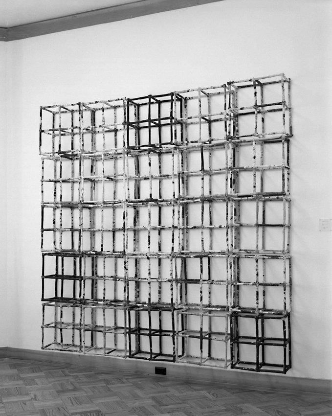 image of 'Wall Piece, Grid'