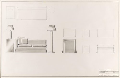 Living room furniture designs for Mr. David Sandberg