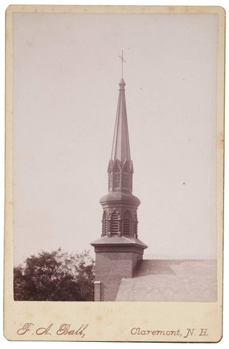 Untitled (Church Steeple, Claremont New Hampshire)