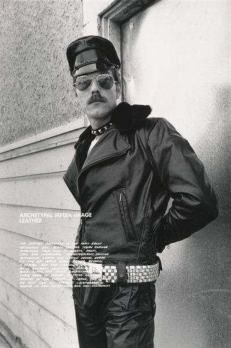 Archetypal Media Image: Leather, from the series Gay Semiotics