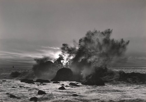 Breaking Wave, Golden Gate, San Francisco, from Portfolio Two: Twelve Photographs by Pirkle Jones
