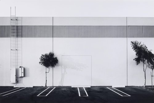 South Wall, Semicoa, 333 McCormick, Costa Mesa, from the portfolio The New Industrial Parks near Irvine, California