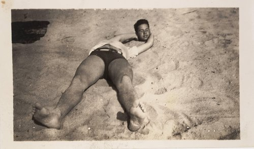 "Untitled [""Headless"" Sunbather]"