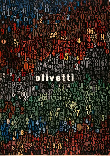 Poster for the Olivetti Company