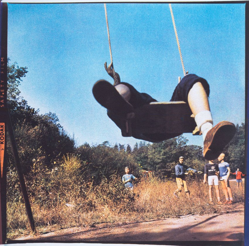 image of 'La Balançoire (The Swing), from the series Les Grandes Vacances (Summer Camp)'