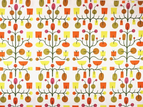 Fruit Tree #1064 Drapery Fabric
