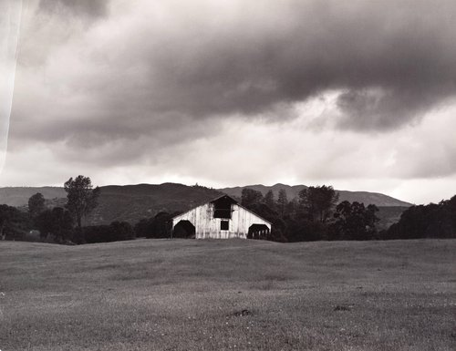 Barn, from the series Death of a Valley