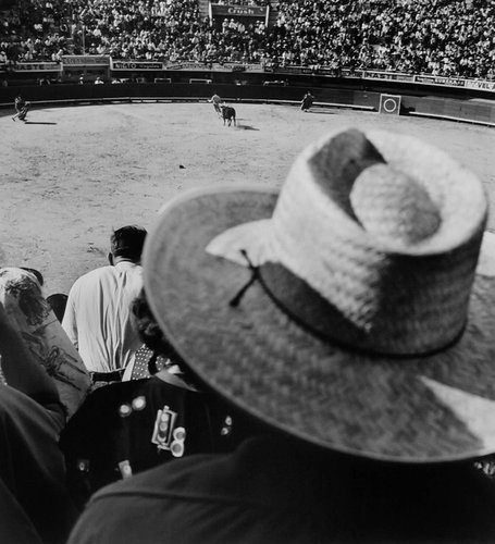 Watching the Bullfight, Mexico City