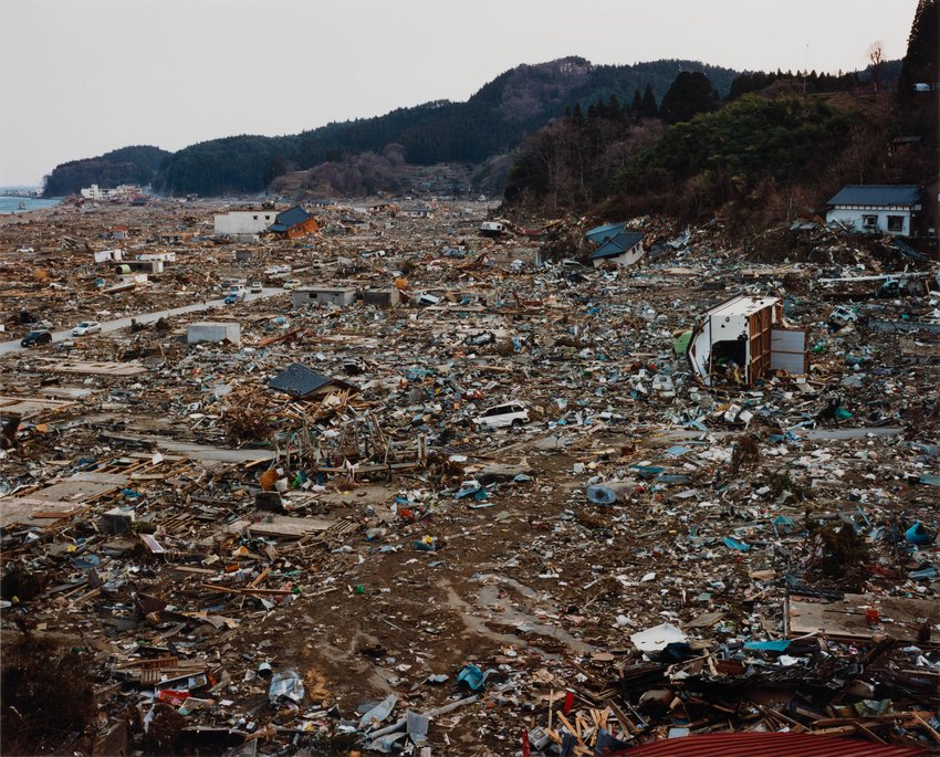 image of Kesen-cho, 2011.3.19, from the series Rikuzentakata