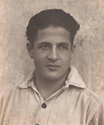 Untitled (Portrait of Benvenuto Modotti)