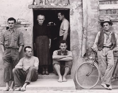 The Family, Luzzara, Italy, from Paul Strand: Portfolio Four
