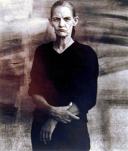Woman in Black Clothes, Stockton, California, from the series California Anonymous