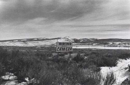 Bring Your Camera, U.S. 50, Utah-Nevada, from the portfolio Meta Photographs