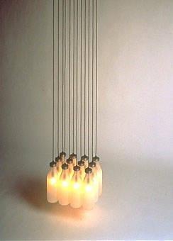 image of 'Milkbottle Lamp'