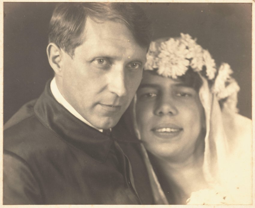 image of 'Self Portrait with Wife'