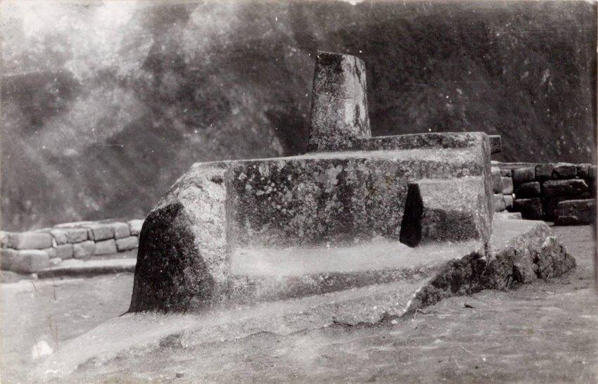 image of 'El Inti-huatana (Reloj Solar) Machu Picchu'