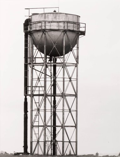 Wasserturm, ca. 1920, Liege, Belgien (Water Tower, ca 1920, Liege, Belgium), from the portfolio Industriebauten (Industrial Buildings)