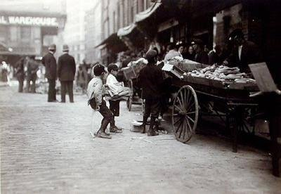 image of 'Boys on Cart, Boston, Massachusetts'