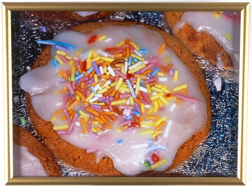 Untitled [cookie with sprinkles], from the series British Food