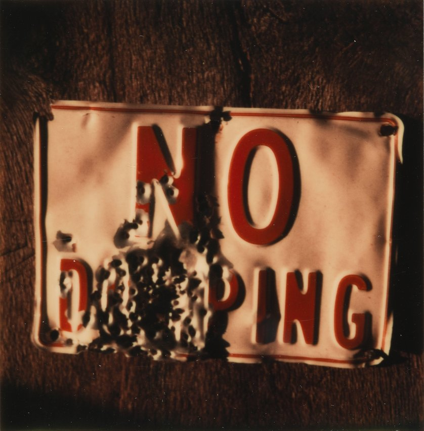 """image of 'Untitled [""""No dumping""""]'"""
