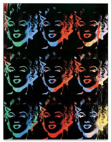 Nine Marilyns [Reversal series]