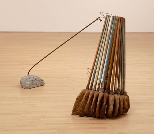 Broom Collection with Boom