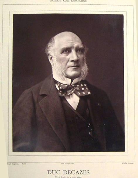 image of 'Duc Decazes from the publication Galerie Contemporaine'
