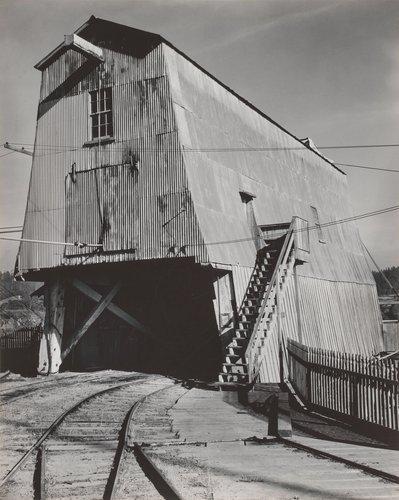Wharf at Mendocino City, California