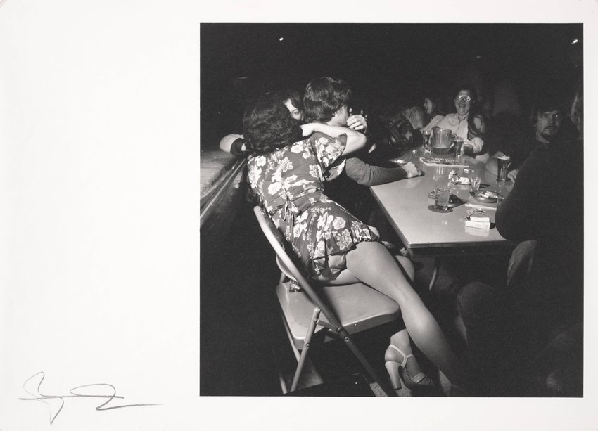 image of 'Dance, American Legion, Bangor, PA, September 1978, from the series Social Graces'