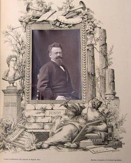 image of 'Gustave Jundt, from the publication Galerie Contemporaine'