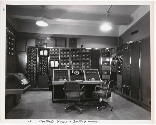 Atomic Tests in Nevada [Control point - control room]