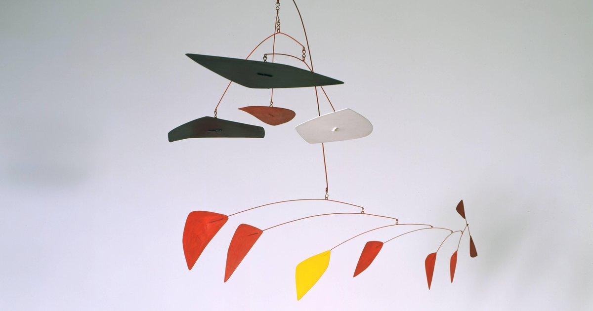 Alexander Calder, Lone Yellow, 1961 · SFMOMA Alexander Calder Mobile Names
