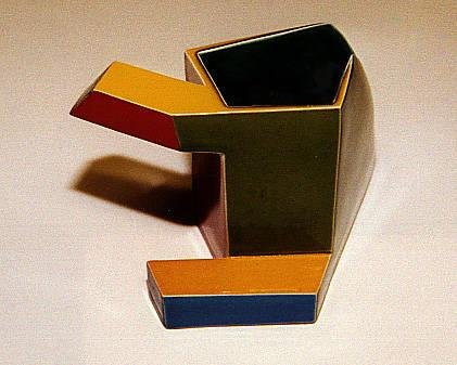 Untitled [Geometric cup]
