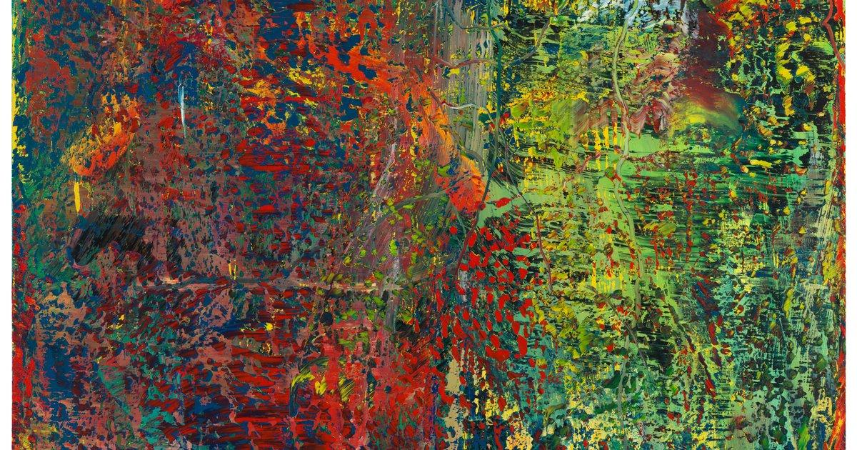 Gerhard Richter, Abstraktes Bild (Abstract Picture), 1987 · SFMOMA