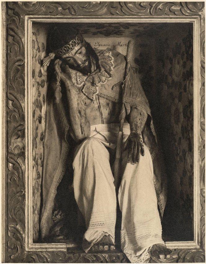 image of 'Cristo, Tlacochoaya, Oaxaca, from the portfolio Photographs of Mexico'