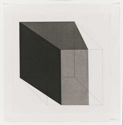 Forms Derived from a Cube, Plate #07