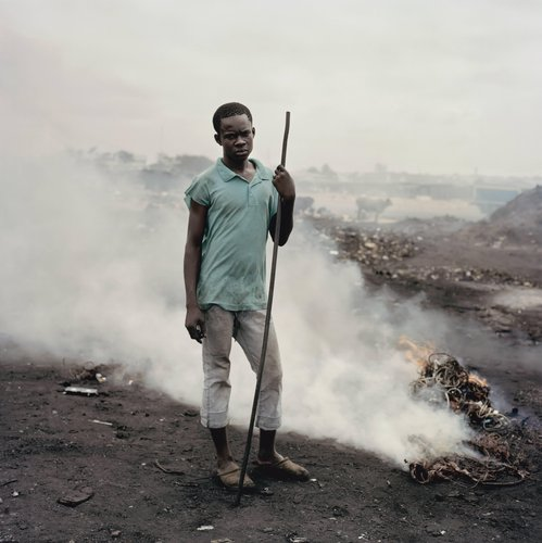 Al Hasan Abukari, Agbogbloshie Market, Accra, Ghana from the series Permanent Error