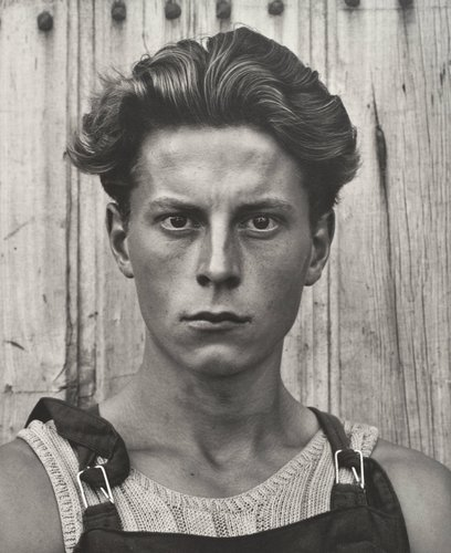 Young Boy, Gondeville, Charente, France, from Paul Strand: Portfolio Three